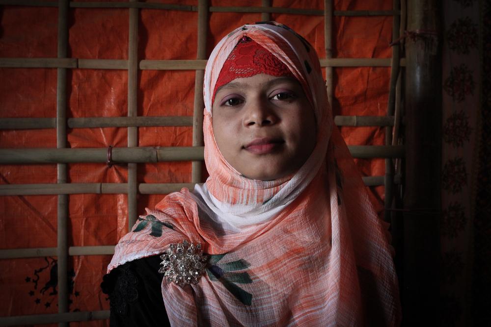 로힝야 난민 샤메마르(18세) ⓒSara Creta/MSF