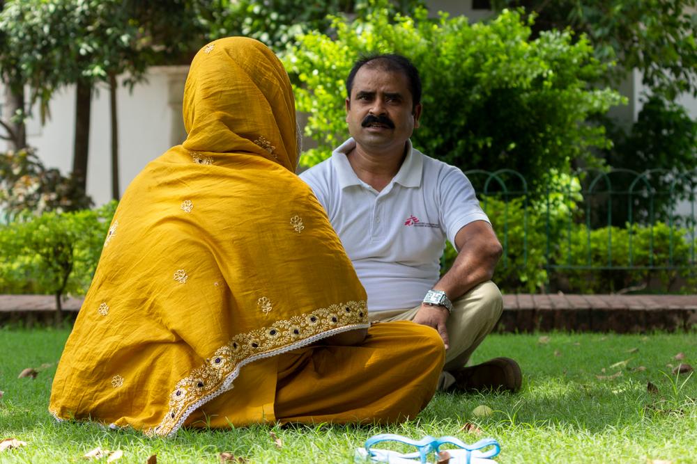 인도 비하르 주 파트나에 있는 국경없는의사회 병동에서 흑열병-HIV 동시감염 치료를 받은 조야 ⓒMSF/Vaishnavi Singh