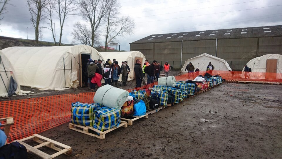 새로 이동한 캠프의 모습 ⓒRaphaël Etcheberry/MSF
