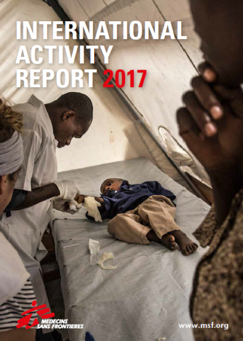 2017 국경없는의사회 국제활동보고서