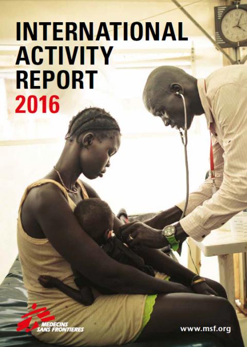 2016 국경없는의사회 활동 보고서 (영문)
