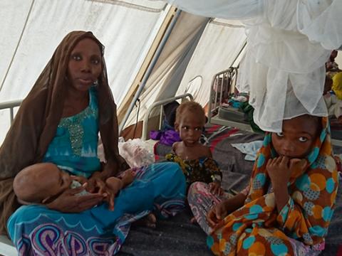 나이지리아 영양실조 긴급구호