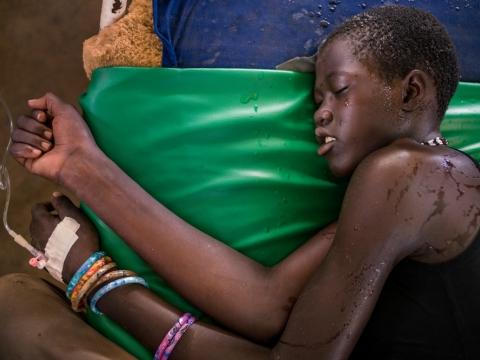 남수단: 우기 시작, 말라리아 대비 시급