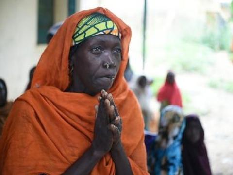 베니 셰이크의 국내 실향민 캠프에 있는 야 자라 ⓒIkram N'gadi
