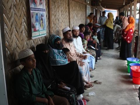 방글라데시: 디프테리아 발병으로 더 곤란한 상황에 처한 로힝야 난민들