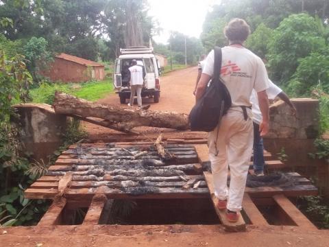 중앙아프리카공화국: 국경없는의사회, 공격 발생 후 방가수 구호 활동 중단