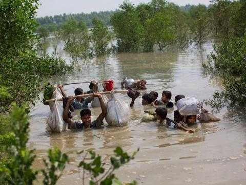 미얀마: 라카인 주 내 국제 인도주의 단체 접근, 긴급 허용돼야
