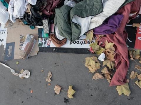 파리 난민촌 철거, 국경없는의사회가 포착한 포르트 드 라 샤펠 난민의 생활 환경