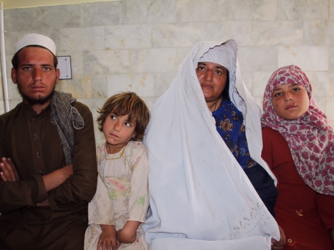 파키스탄: 피부리슈만편모충증 환자에게 희망을 전하는 국경없는의사회