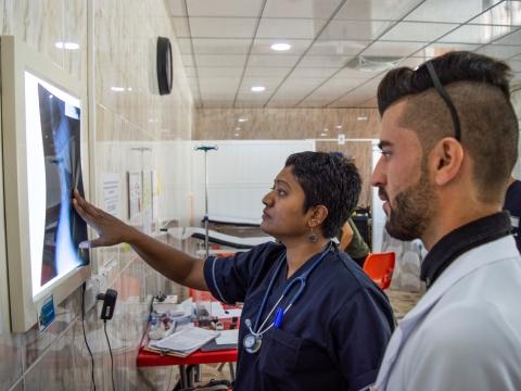 이라크: 병원 활동 확대로 신자르의 의료 접근성 향상