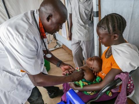 콩고민주공화국: 이재민들의 열악한 상황
