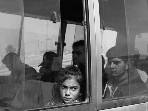 시리아와 맞닿은 이라크 바르다라쉬 난민 캠프의 모습 ©Moises Saman / Magnum Photos
