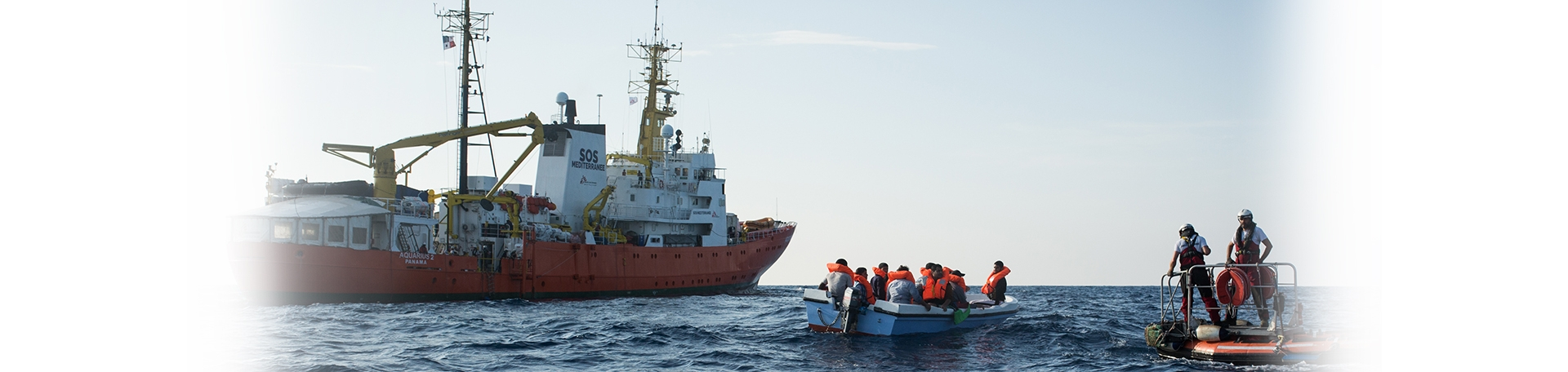 지중해 구조 활동 강제 종료