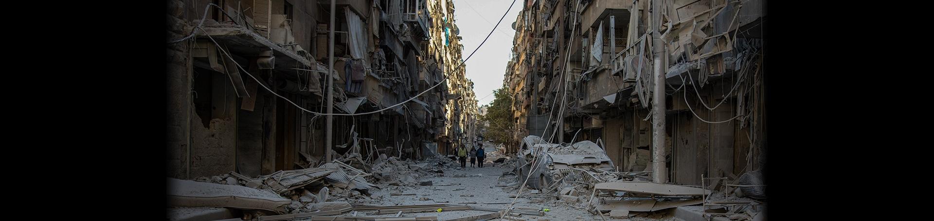 시리아 분쟁 6주년 이미지