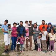 시리아 알레포에서 온 이 가족은 그리스에 피신해 있다. 도널드 트럼프 미국 대통령의 행정명령으로, 폭력을 피해 탈출하는 많은 가족들은 앞으로 미국에 재정착할 수 없게 될 것이다. ⓒRorandelli Rocco/Terraproject
