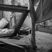 알레포 동부의 국경없는의사회 지원 병원인 알 다카크 병원 내부. ⓒMSF