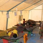에티오피아 소말리 지역 내에 위치한 케브리데하르 치료 센터에 급성 수인성 설사에 걸린 환자들이 입원해 있다. ⓒ MSF/Awad Abdulsebur
