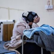 이라크: 모술 서부에서 온 수천 명의 부상자와 환자들