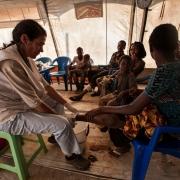 콩고민주공화국: 카사이에서 탈출해 앙골라로 피신한 사람들