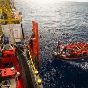 지중해: 중부 지중해 루트에서 진행되는 난민•이주민 의료 지원