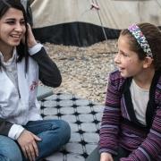 """이라크: 모술 아동 심리치료 — """"예전의 저로 돌아왔어요. IS가 오기 전의 제 모습이요."""""""