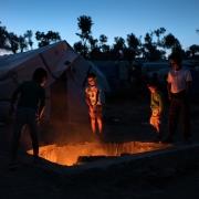 그리스 모리아 캠프에 머물고 있는 난민 아동들 ⓒRobin Hammond/Witness Change