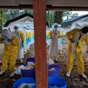 콩고민주공화국: 한 달간 북부 키부에서 에볼라 환자 65명을 치료한 국경없는의사회