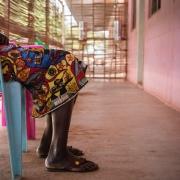 국경없는의사회 성폭력 진료소에서 치료와 상담을 받고 있는 타티아나(가명) ⓒMSF/Olivia Watson