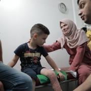 팔레스타인 국경없는의사회 상담사의 하루