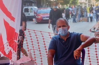 베이루트 대폭발 피해 대응