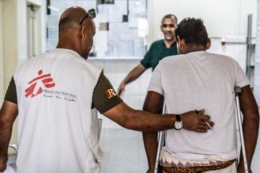 전쟁의 포화 속 위태로운 예멘의 환자들